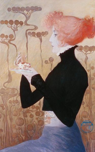 Orazi, Manuel : Portrait of Sarah Bernhard...