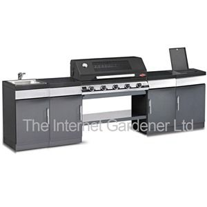 Beefeater Discovery 1100 Plus 5 Burner Kitchen BBQ Complete Set