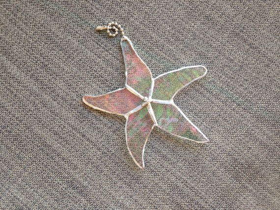 Stained Glass Star Fish Ceiling Fan Pull    https://www.etsy.com/listing/162883719/stained-glass-star-fish-ceiling-fan-pull