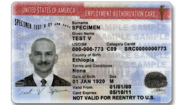 Cambios en formulario de autorización para trabajar en EEUU