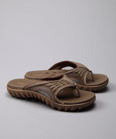 Take a look at this Beige Dry IV Flip-Flop - Women by Rider on #zulily today!