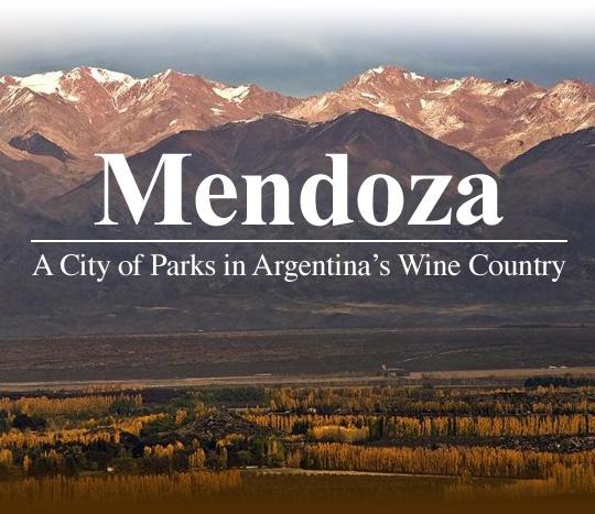 Mendoza, Argentina...wine country!!