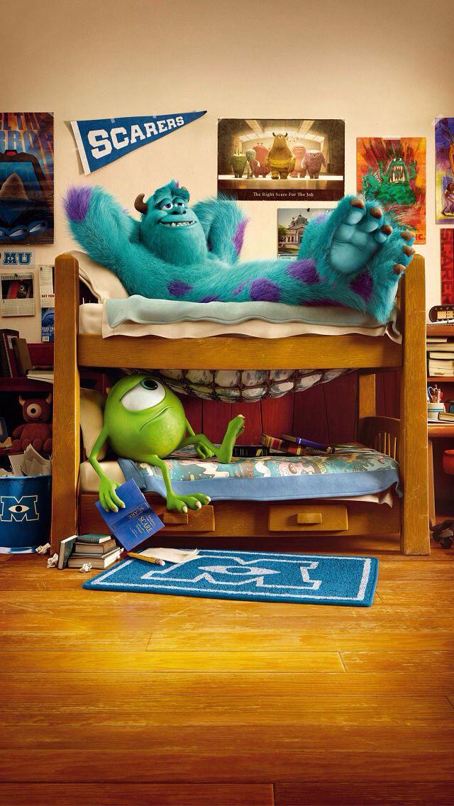 Mike Wazowski Monsters University iPhone 5 Wallpaper