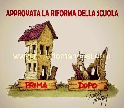 #IoSeguoItalianComics #satira #Politica #riforma #scuola #Renzi
