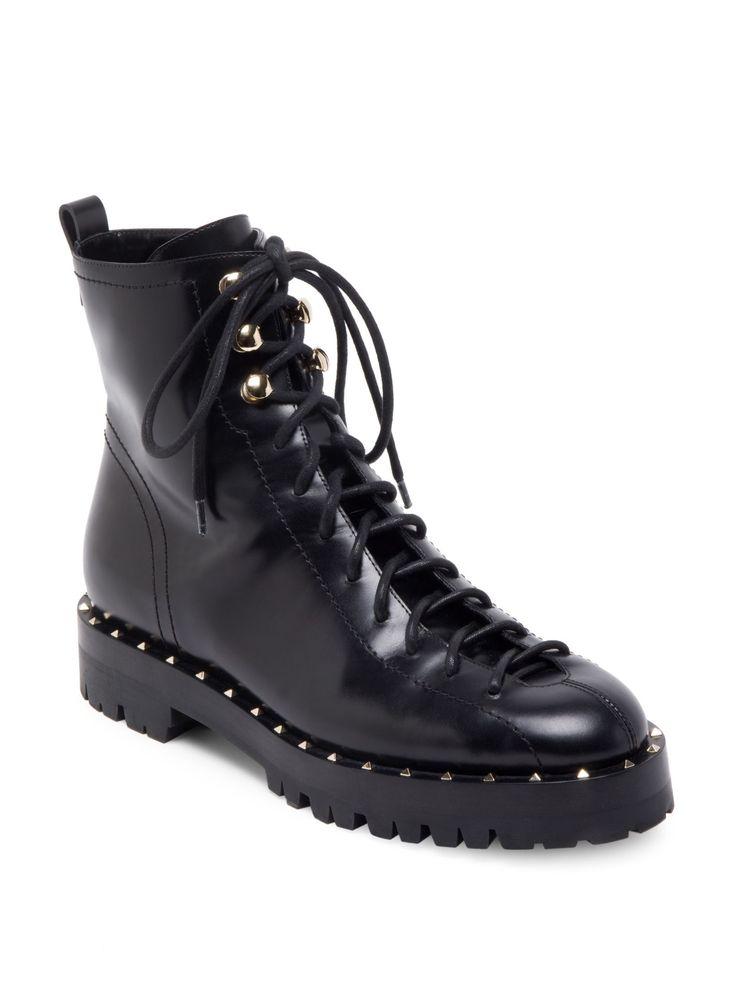 Soul Rockstud Leather Booties