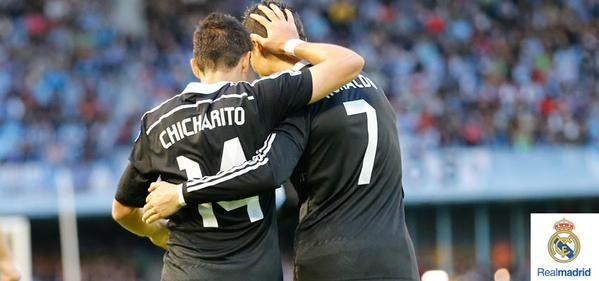 Cristiano Ronaldo Chicharito Real Madrid 2014-2015