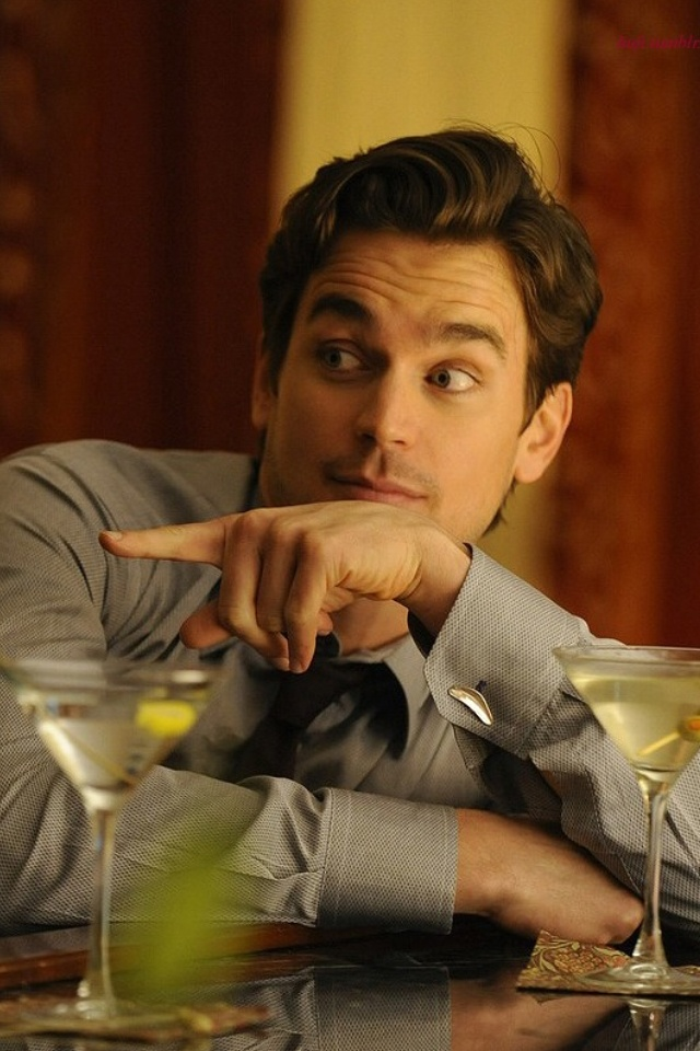Matt Bomer....before Ana soaked Elena with a Lemon martini!!!