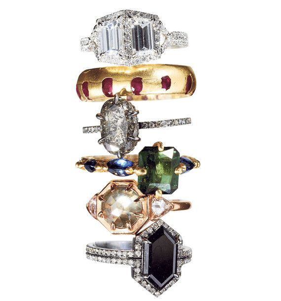 The changing rules of engagement jewelry Monique Péan Polly Wales Fine Jewellery Eva Fehren