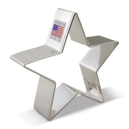 Star Cookie Cutter by Ann Clark Cookie Cutters. Made in USA!