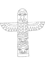 totem pole animal coloring pages - 1000 images about totem poles on pinterest crafts