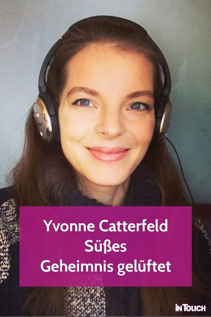 Yvonne Catterfeld: Sie lüftet ein süßes Familien-Geheimnis