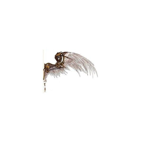 Steampunk wings tattoo ❤ liked on Polyvore featuring accessories and body art