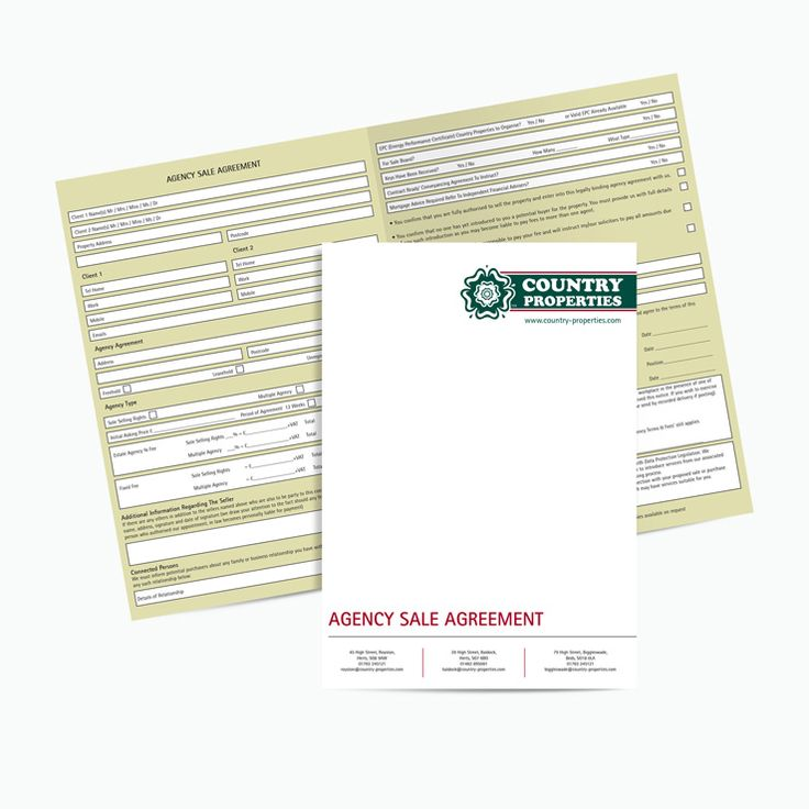 10 best NCR Estate Agents Agreement templates images on Pinterest - Business Agency Agreement