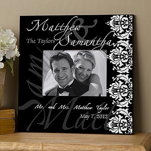 Expensive Wedding Gifts For Couples : wedding photo frame: Wedding Shower Gifts, Personalized Pictures ...