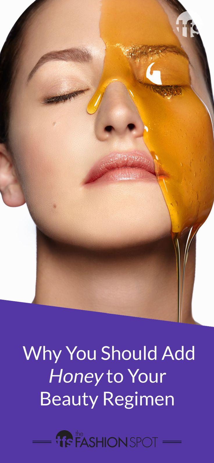 the many beauty benefits of honey