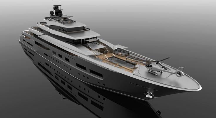 Zuccon SuperYacht Design presents 94M Teti