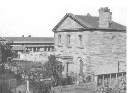Parramatta Gaol, completed 1842. Corner of Clifford  Dunlop St, Parramatta. A short distance from the Female Factory. Source Parramatta Female Factory Precint. Parramatta History