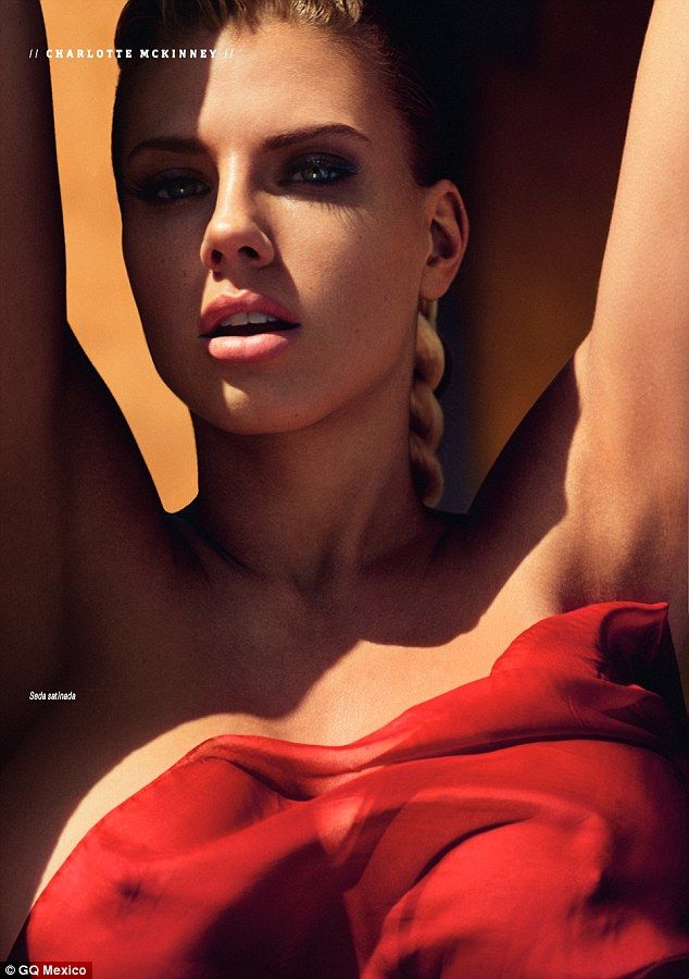 Staying in the spotlight: The model has been making a name for herself since the bikini-cl...