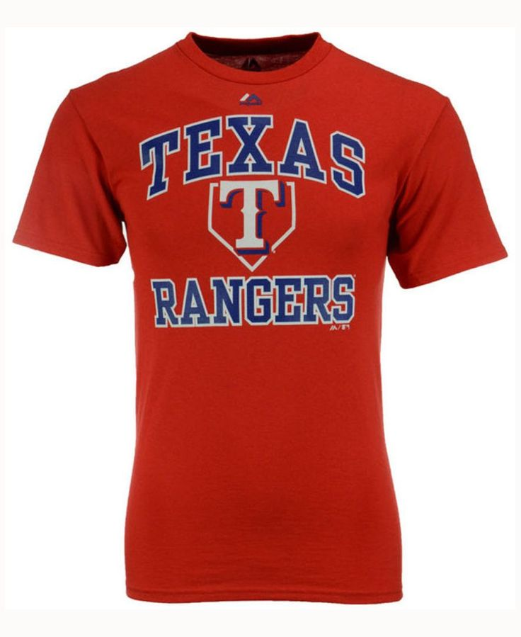 Majestic Kids' Texas Rangers Hit and Run T-Shirt