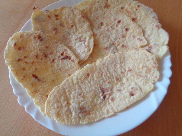 bramborové placky pečené na sucho .