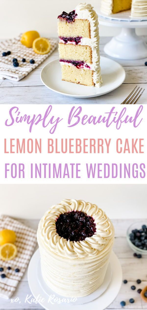Lemon Buttermilk Cake With Blueberry Jam Filling Katie Rosario Recipe In 2020 Blueberry Lemon Cake Cake Cake Decorating For Beginners