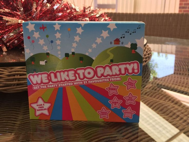 We Like To Party Box Set - Get Your Party Started  | eBay