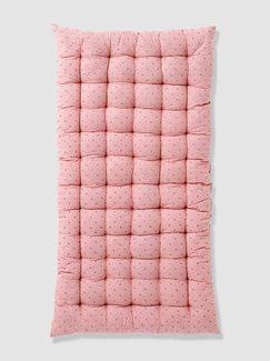 Colchón estampado para suelo - rosa claro liso con motivos