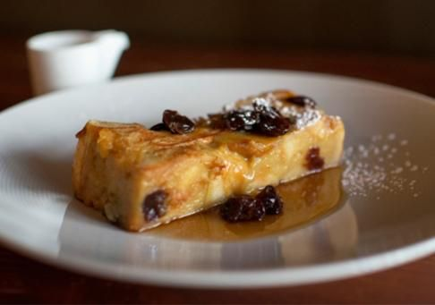 Cherry Bread Pudding Jubilee Recipe — Dishmaps