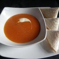 Verse tomatencremesoep recept