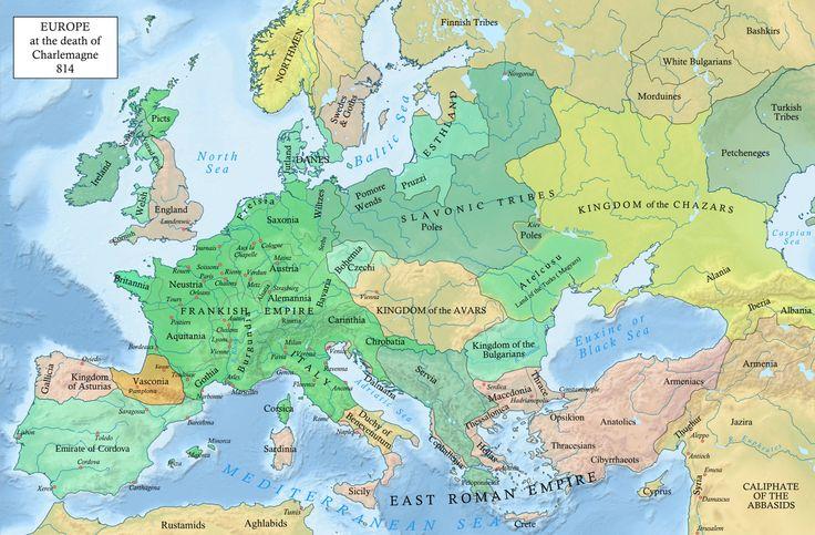 Európa 814-ben