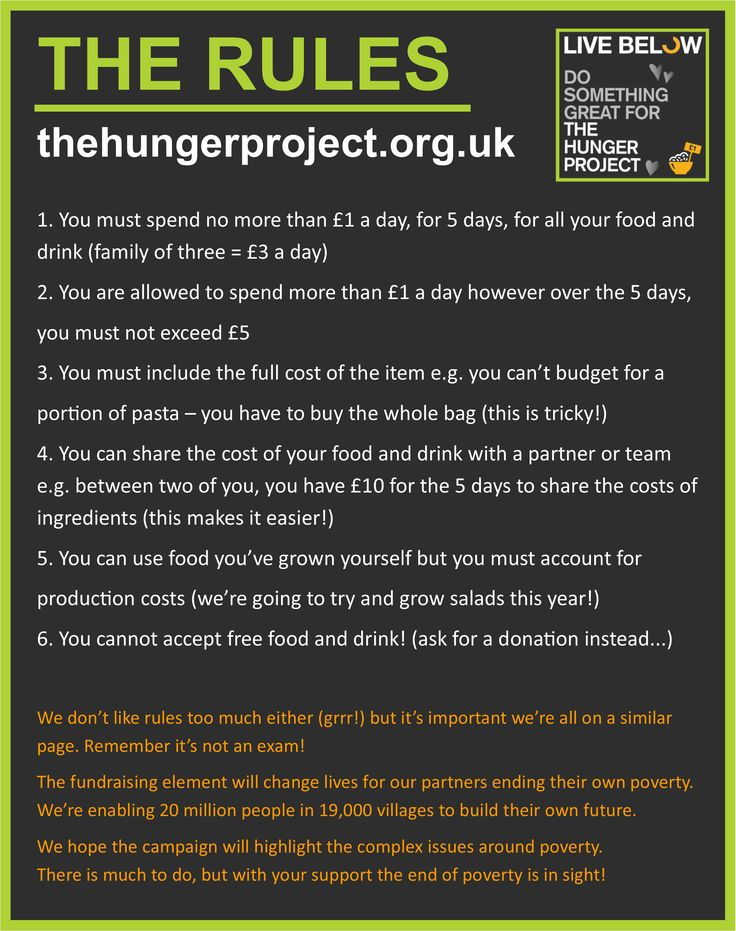 Rules rules rules. Yes unfortunately Live Below the Line Challenge has some rules to keep us all in check. Read and share, and join The Hunger Project #belowtheline 2014. http://www.thehungerproject.org.uk