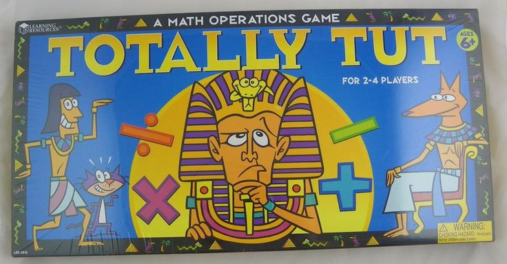Learning Resources Totally Tut Math Operations Board Game #LearningResources