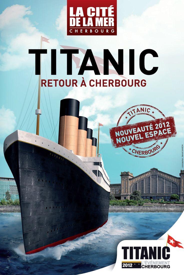 Exposition titanic à Cherbourg, visiter titanic cherbourg à la Cité de la Mer | La Cité de la Mer