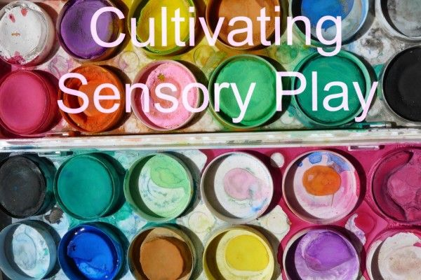 Learn some examples of easy, inexpensive ways to spend time engaging your kids in sensory play at home.