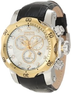 Invicta Men's 10816 Venon Reserve Chronograph Silver Textured Dial Watchm Achtung Baby! http://www.squidoo.com/workshop/invicta-watchesformen-review