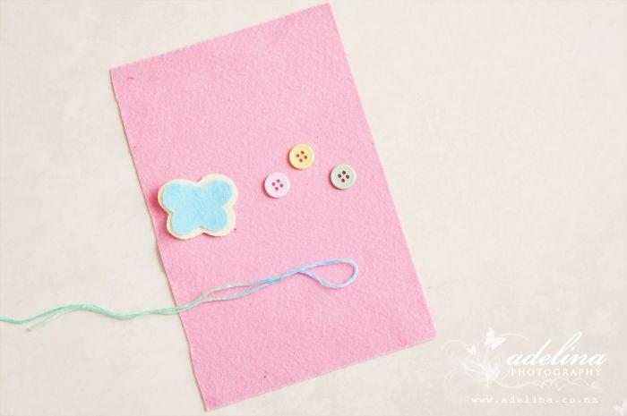 DIY felt coin purse for little girls