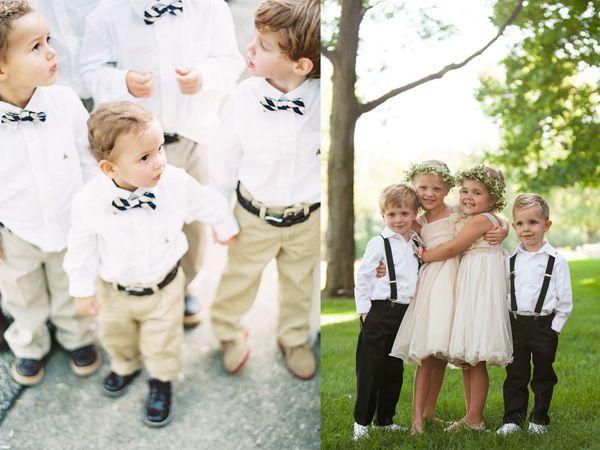Wytwórnia Ślubów - Napędzana Pomysłami - Blog Ślubny: Mali chłopcy w wielkim dniu