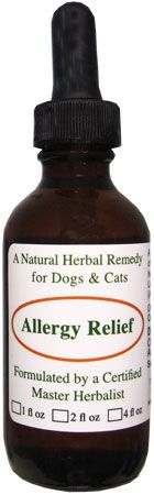 Dog and Cat Allergy Relief Remedy