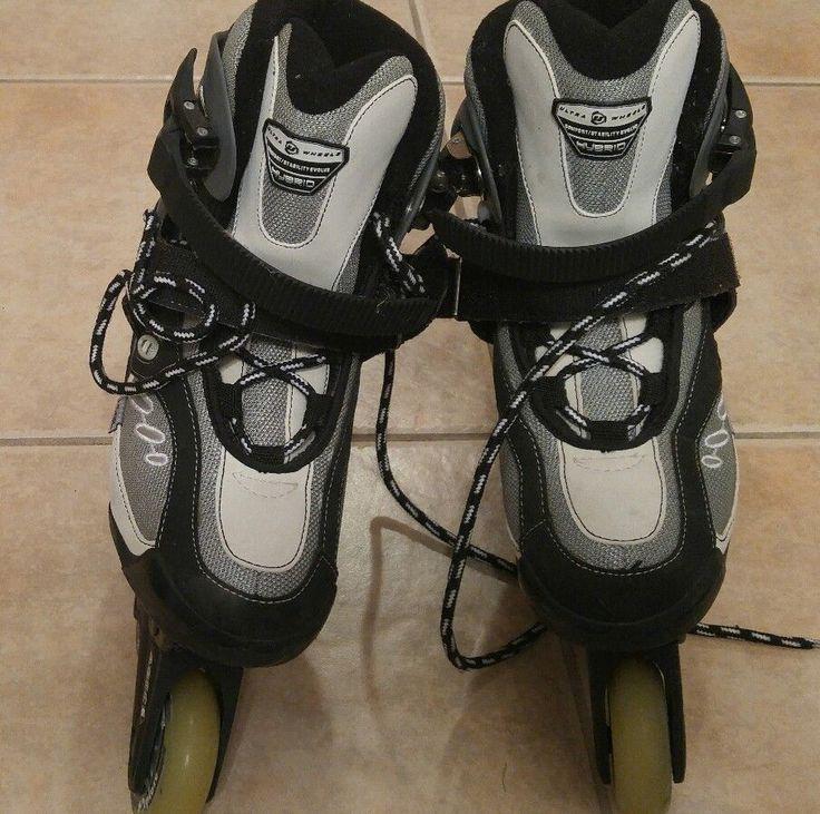 Womens Ultra-Wheels Hybrid Rollerblades Inline Skates Abec 5 V-3 Size US 8 | Sporting Goods, Outdoor Sports, Inline & Roller Skating | eBay!