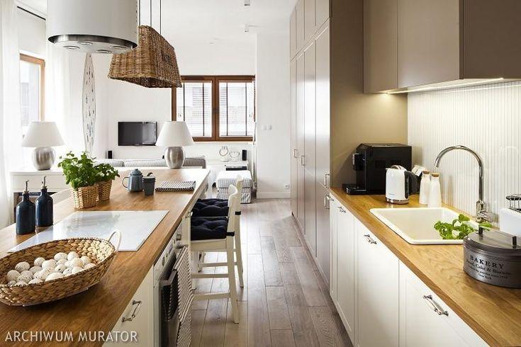 Drewno i wiklina w kuchni