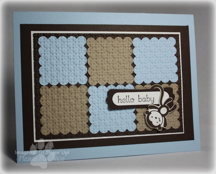 <3: Cards Ideas, Crafts Cards, Baby Cards, Cards Scrapbook, Cards Baby, Baby Boy, Paper Crafts, Dogs Blog, Baby Quilt