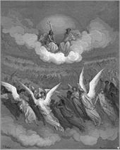 Paradise Lost - Wikipedia, the free encyclopedia (The Heavenly Hosts, c. 1866)