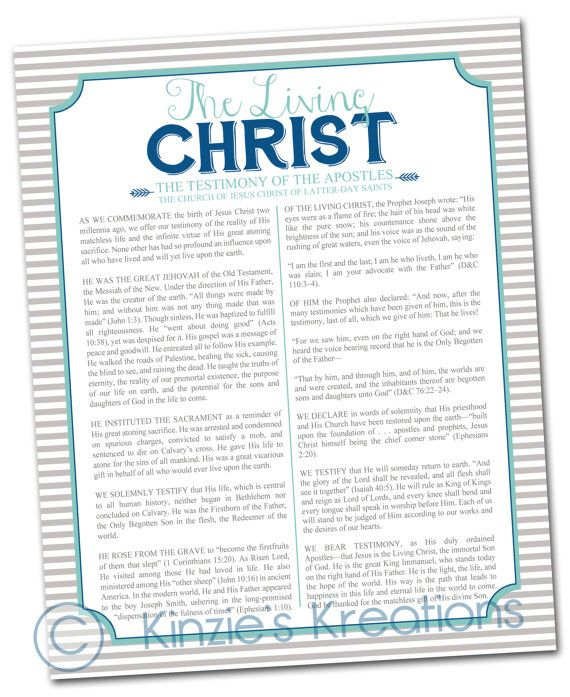 The Living Christ  digital download 8x10 print by KinziesKreations, $5.00