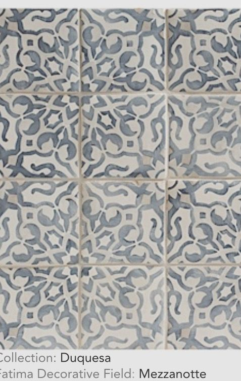 Love the washed, weathered, time-worn look of these tiles More
