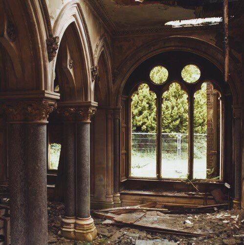 Дом престарелых Хафодунос Холл в Северном Уэльсе, Англия.