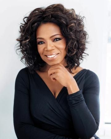 Oprah Winfrey Great Portrait poster Metal Sign Wall Art 8in x 12in