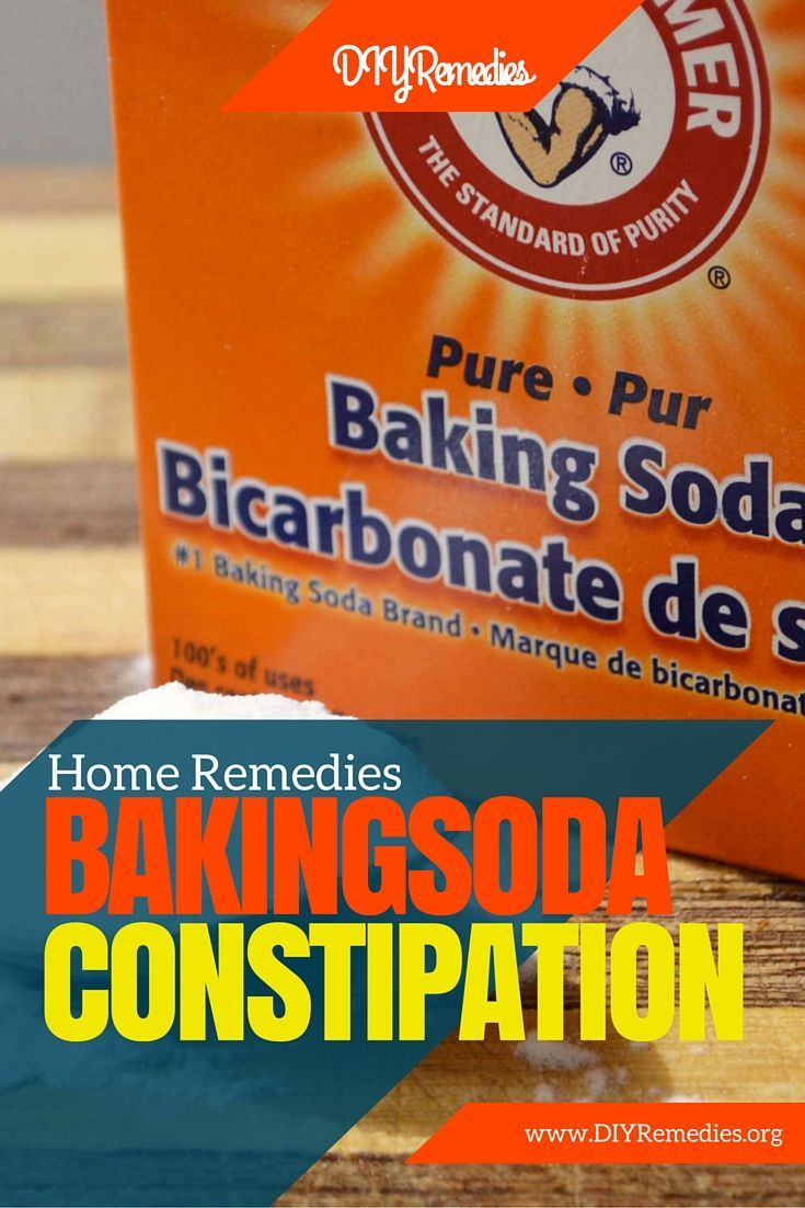 Your knight in shining armor is to use baking soda and water for constipation. Simply mix one teaspoon of baking soda with 1/4 cup of water and drink quickly.