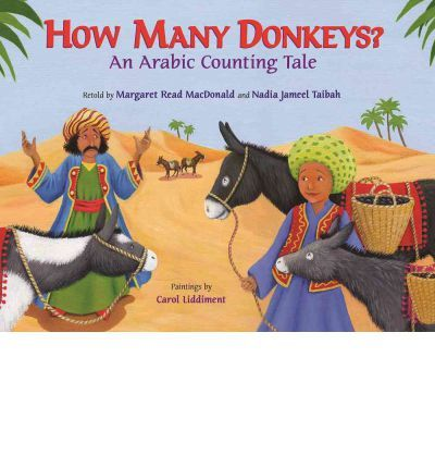 Jouha is loading his donkeys with dates to sell at the market. How many donkeys are there