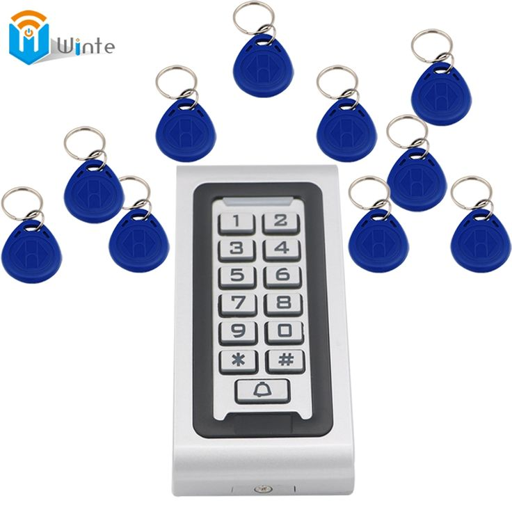28.98$  Watch here - http://alipiz.shopchina.info/go.php?t=32775341865 - Access Control Kit Waterproof 1pcs RFID Card Reader + 10pcs fob keys Access Controller Reader Keypad With Metal Case Winte 28.98$ #magazineonlinewebsite