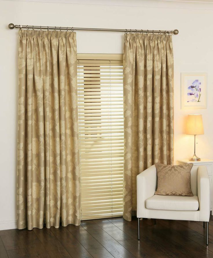 gold curtains | Natural and Gold Curtains Florence Champagne